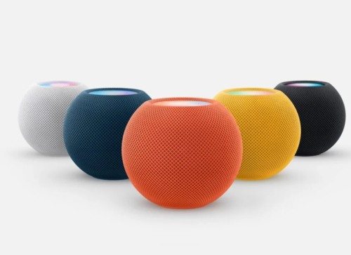 Apple HomePod mini coming in new colours