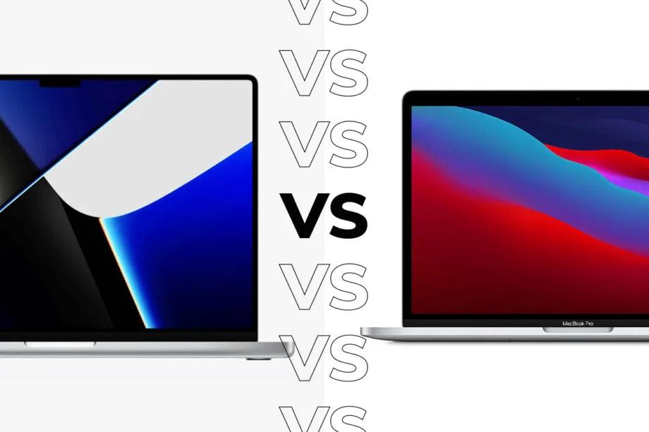 MacBook Pro 2021 vs MacBook Pro M1