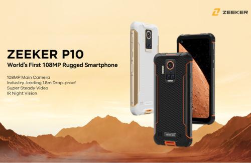 ZEEKER P10 Phone: World's 1st 108MP Rugged Phone