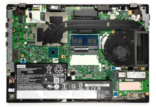 Inside Lenovo ThinkPad P15v Gen 2 – disassembly and upgrade options