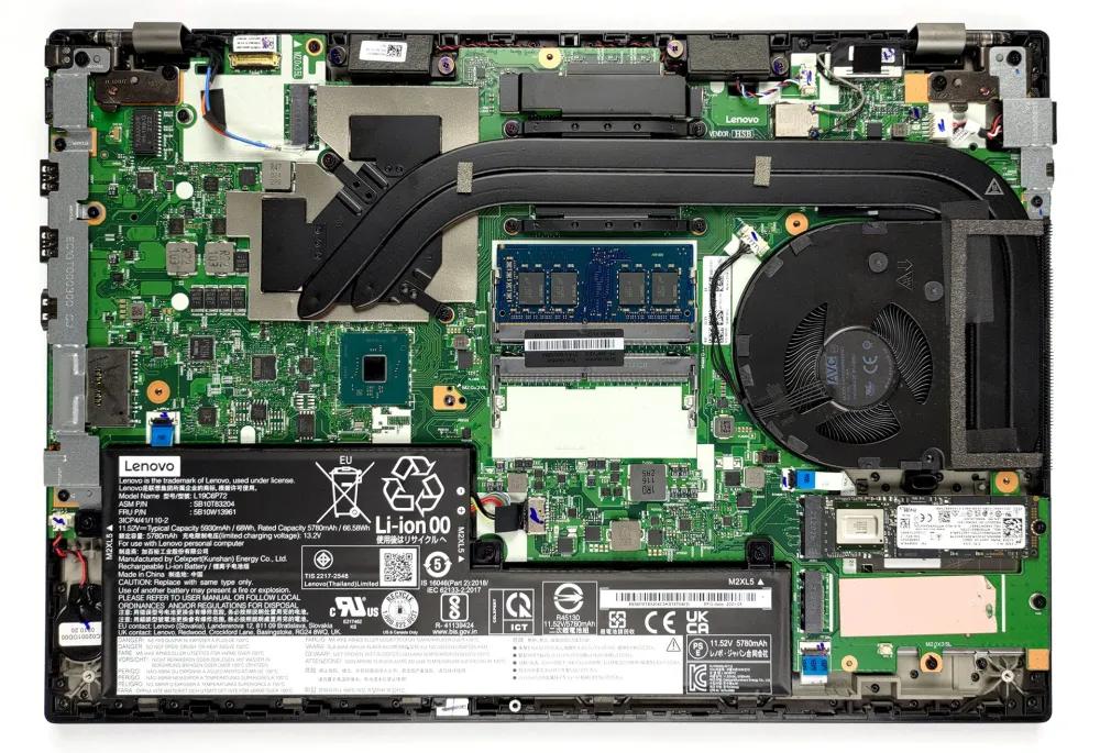 Inside Lenovo ThinkPad P15v Gen 2