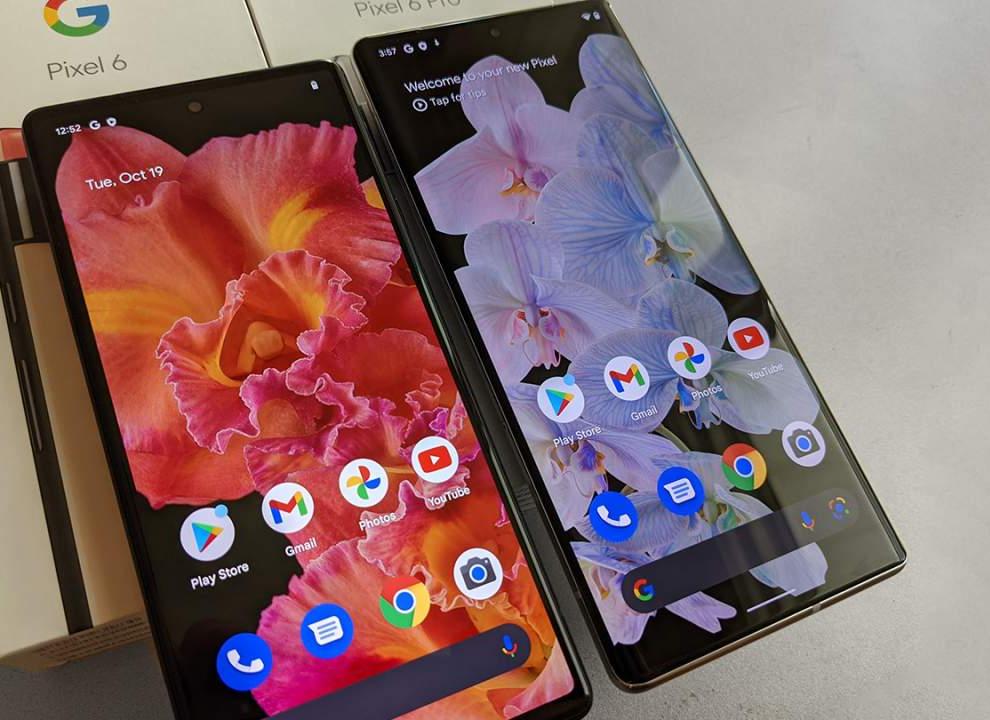 Google Pixel 6 vs Pixel 5