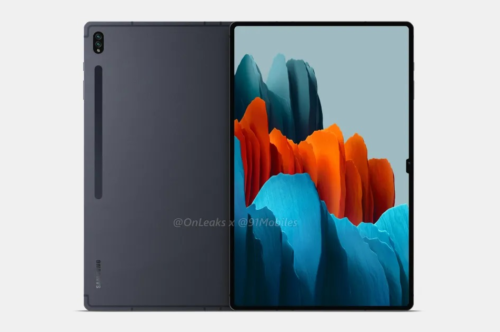 Samsung Galaxy Tab S8 Ultra renders feature the dreaded notch