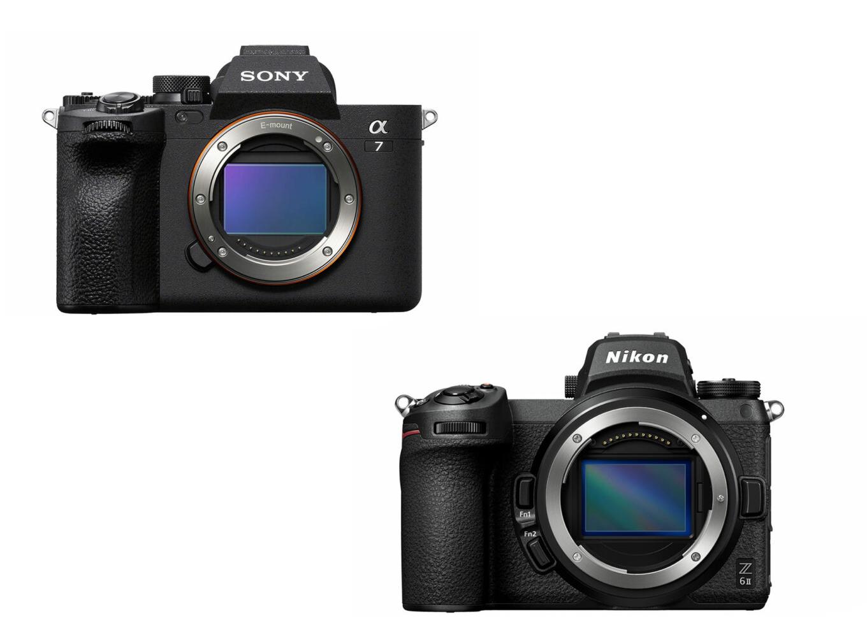 Sony A7 IV vs Nikon Z6 II