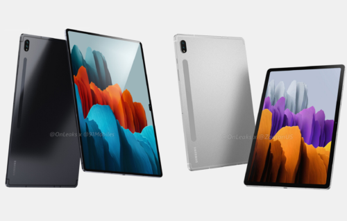 Samsung Galaxy Tab S8 and Galaxy Tab S8 Ultra renders leak with divergent designs