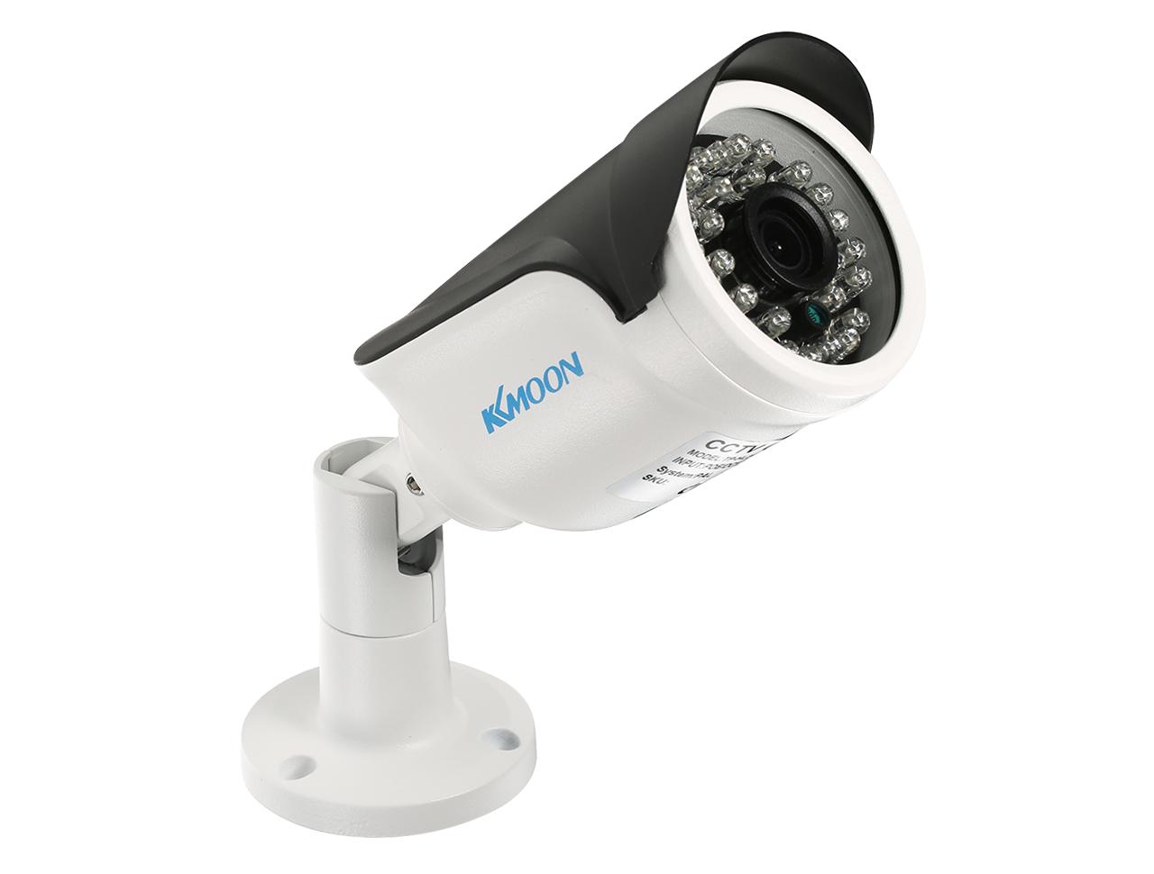 KKmoon 1080P HD P2P POE IP Camera