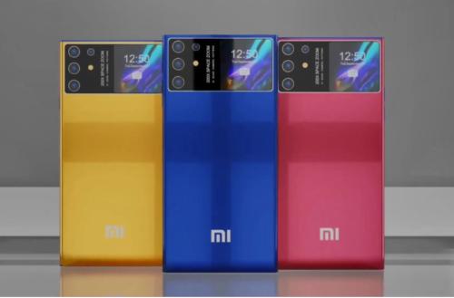 Xiaomi Mi 12 Ultra Rendering: 200MP Lens, 2-inch Secondary Screen