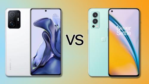 Xiaomi 11T 5G vs OnePlus Nord 2 5G: Specs Comparison