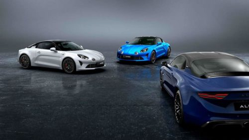 Japan gets an exclusive limited-edition two-tone Alpine A110S