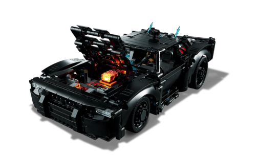 1360-Piece Lego Technic Batmobile Looks Ahead to 2022 Movie 'The Batman'