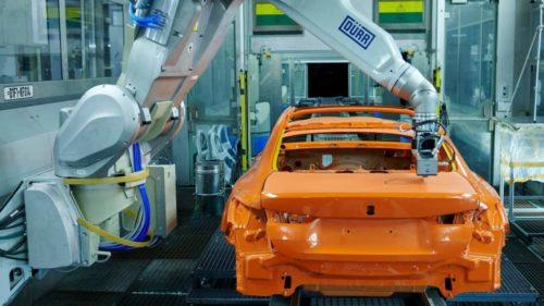 BMW pioneers new EcoPaintJet Pro vehicle painting process