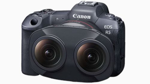 Canon shows first footage from its unusual RF 5.2mm F2.8 L Dual Fisheye lens