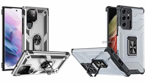 Galaxy S22 Ultra case renders reaffirm S Pen slot theories