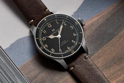 Hamilton's New Military Watch Takes Cues from World War II