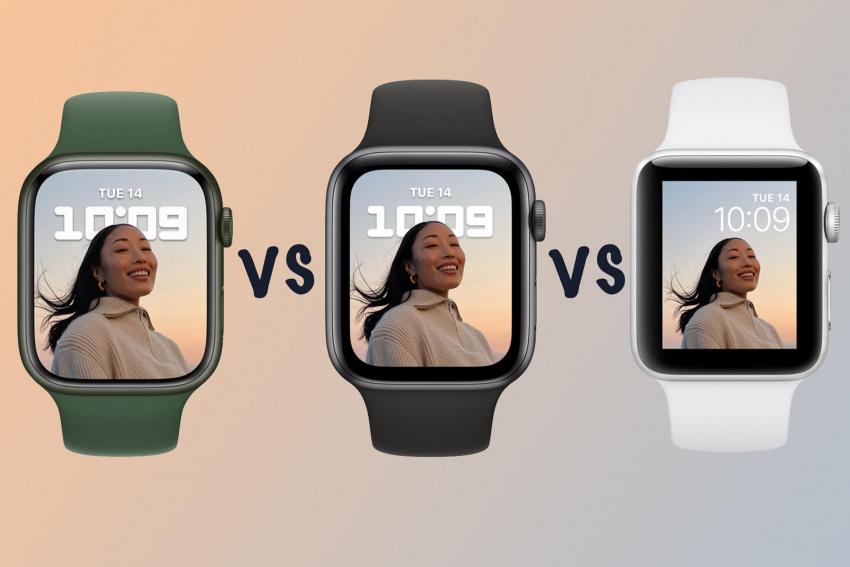Apple Watch Series 7 vs Series 6 vs Watch SE vs Series 3