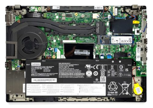 Inside Lenovo ThinkPad P14s Gen 2 – disassembly and upgrade options