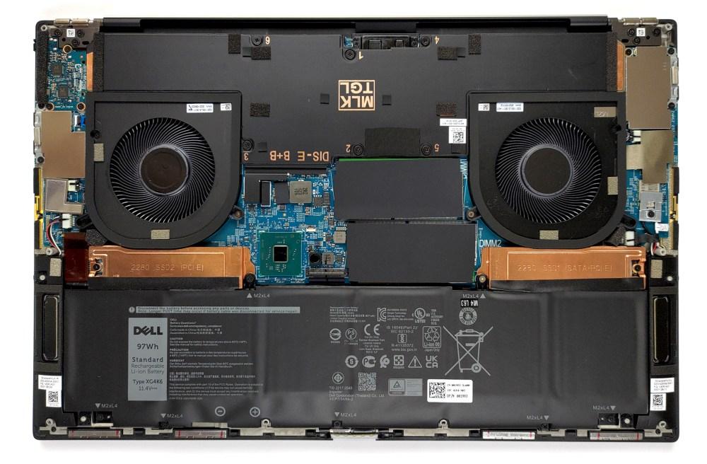 Inside Dell XPS 17 9710
