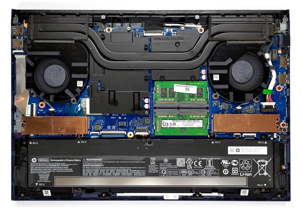 Inside HP Victus 16 (16-e0000)