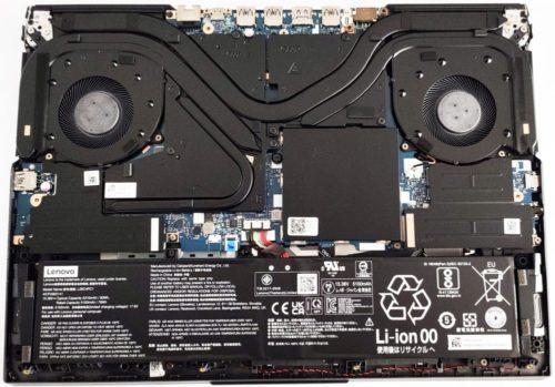 Lenovo Legion 5i Pro (16″ Intel, Gen 6) – disassembly and upgrade options