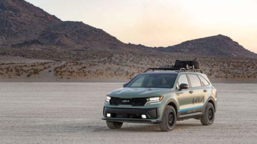 Kia Sorento PHEVs to compete in the Rebelle Rally