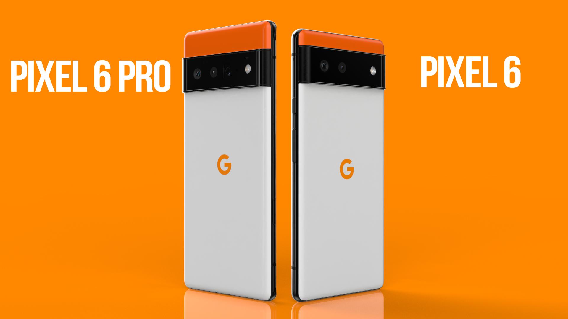 Google Pixel 6 vs Google Pixel 6 Pro