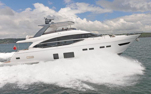 Princess Y75 yacht tour: The stuff that dreams are made of