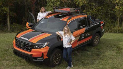 Honda HPD Ridgeline is entering the 2021 Rebelle Rally