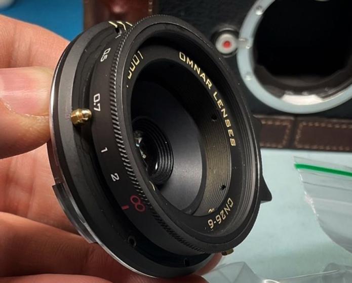 Omnar Lenses 26mm F6 M-mount lens