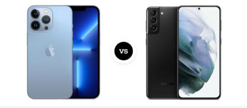 iPhone 13 Pro vs. Samsung Galaxy S21 Plus